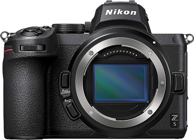 Amazon.com : Nikon Z 5 Camera Body, Black : Camera & Photo