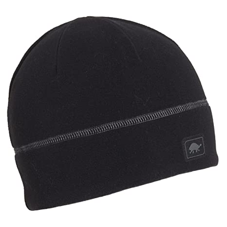 sale retailer cb5d3 33622 Turtle Fur Midweight Micro Fur Fleece Beanie, Black