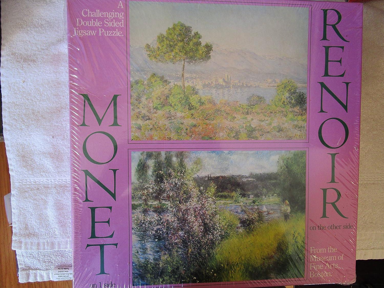 551pc Double Sided Monet//Renoir Puzzle Boston Museum 6420265