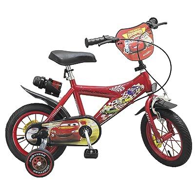 """TOIMSA Cars - Bicicleta de 12"""" 732: Juguetes y juegos"""
