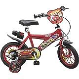 Toimsa 732 - Vélo pour Enfant Sous Licence Cars 12 pouce de 3 à 5 ans