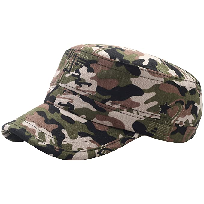 d30f30d7d309c RaOn A58 Summer Camouflage Pattern Army Cap, Thin Fabric Cadet ...