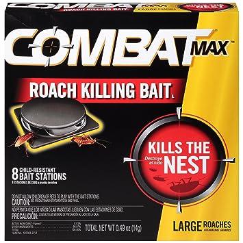 Amazon.com: Combat Source Kill Max R2 Large Roach Bait - 1 Box (8 ...