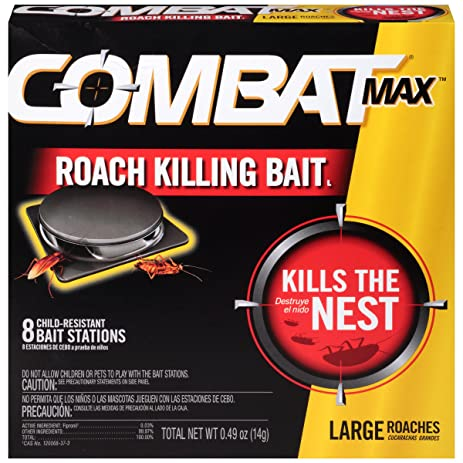 Amazon.com: Combat Source Kill Max R2 Large Roach Bait - 1 Box (8 ...