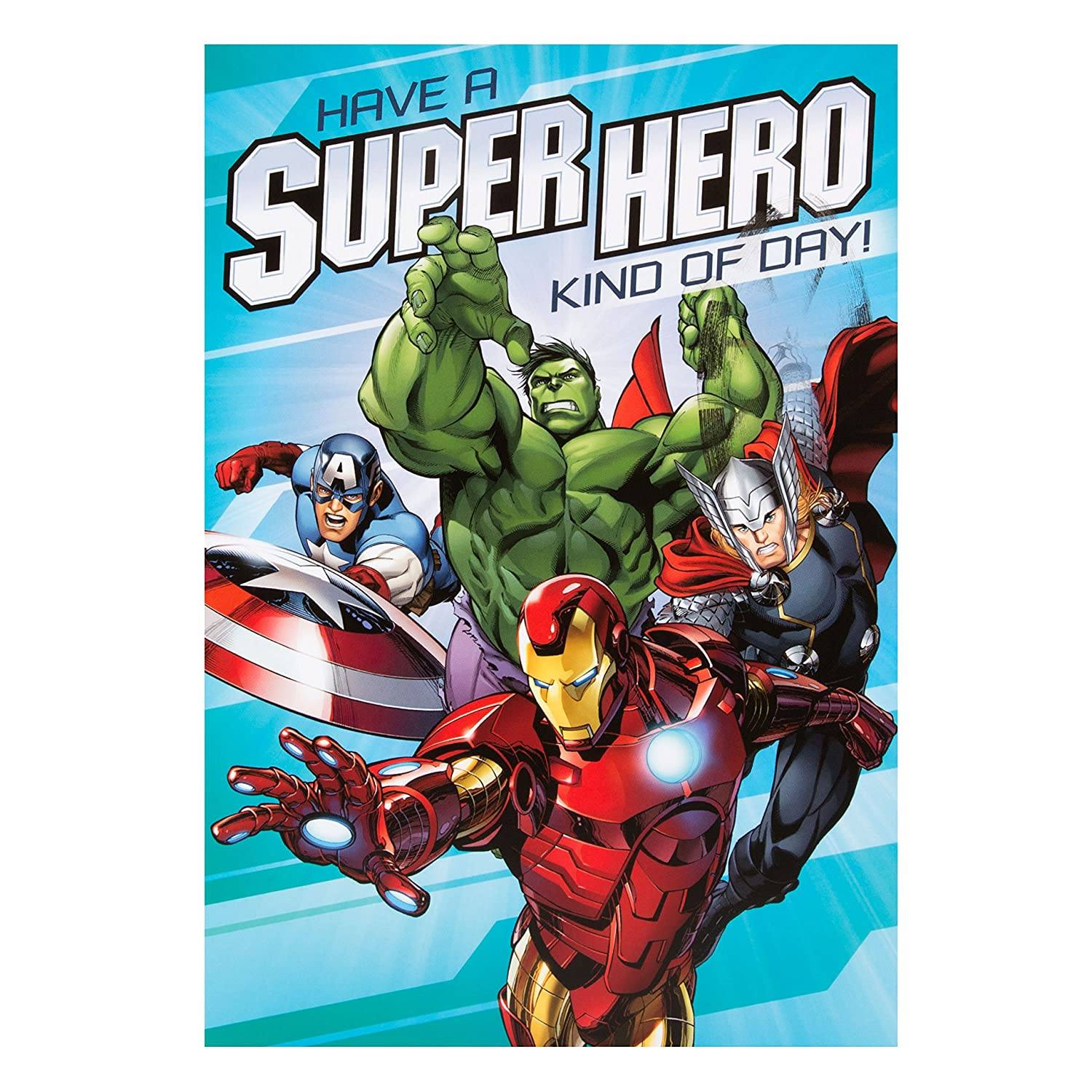 Hallmark Avengers 5th Birthday Card You re Awesome Medium