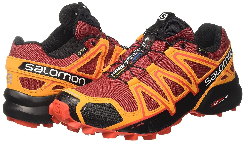 Buy SALOMON Men's Speedcross 4 GTX Trail Running Shoes Red