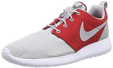 Nike Roshe Run, Men's Training Running Shoes, Grey (Grey/Red/White