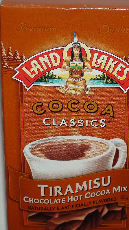 Amazon.com : Land O Lakes Cocoa Classics Tiramisu Chocolate Hot ...