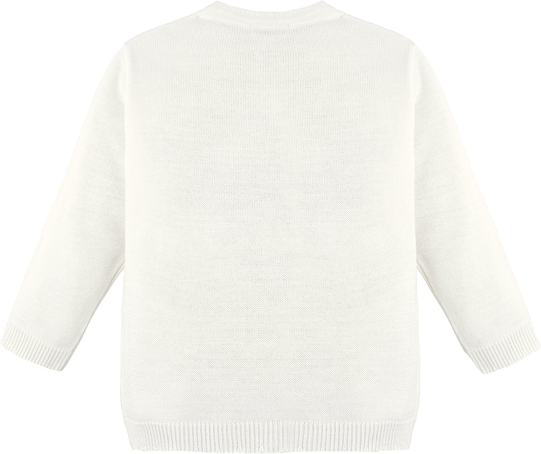 Lilax Little Girls Knit Cardigan Sweater