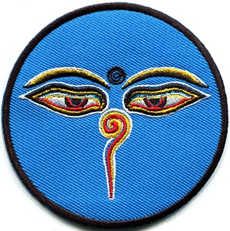 Amazon.com: Ojos de Buda budista Trance Aum Om Yoga Peace ...