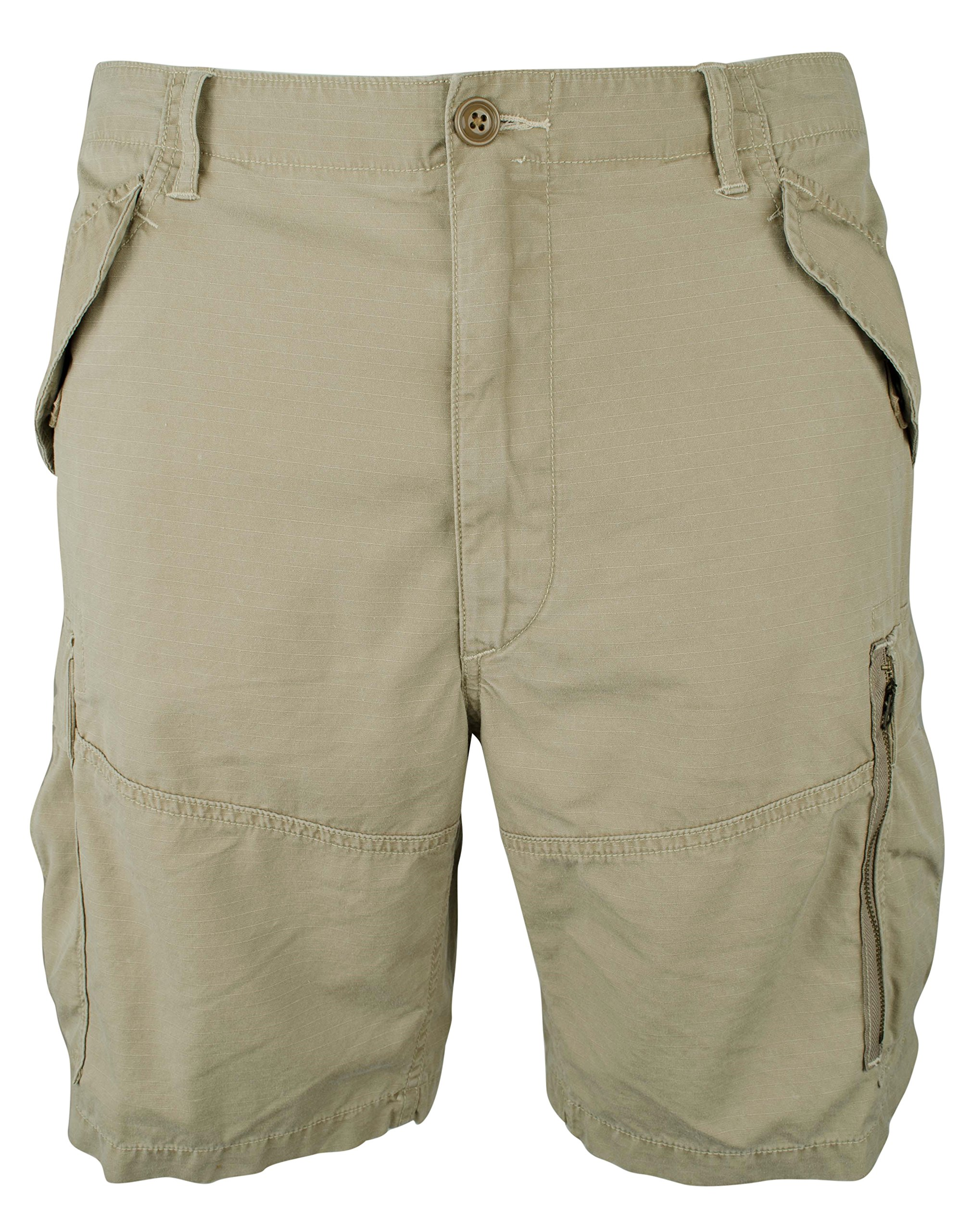 Polo Ralph Lauren Men's Big and Tall Classic Fit 10'' Ripstop Cargo Shorts-BK-40T