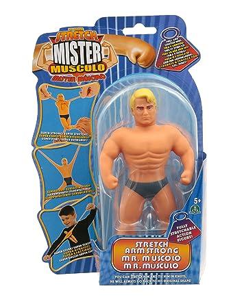 Mister Musculo - Mini Stretch Armstrong (Giochi Preziosi TRM00000): Amazon.es: Juguetes y juegos
