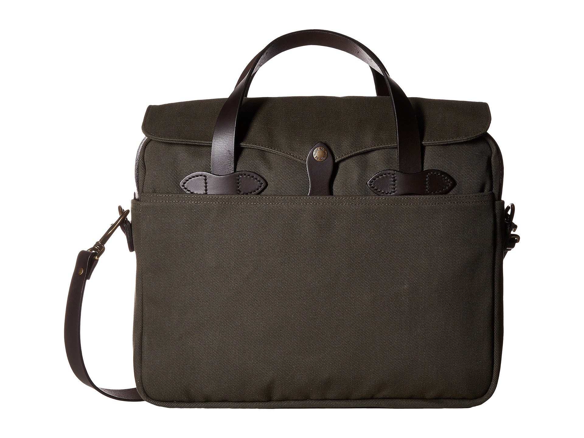 Filson Unisex Original Briefcase Otter Green 1 One Size by Filson