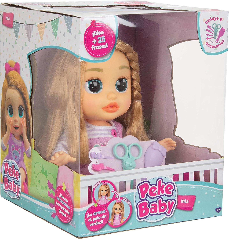 IMC Toys - Peke Baby, MIA corta y peina (96981): Amazon.es ...