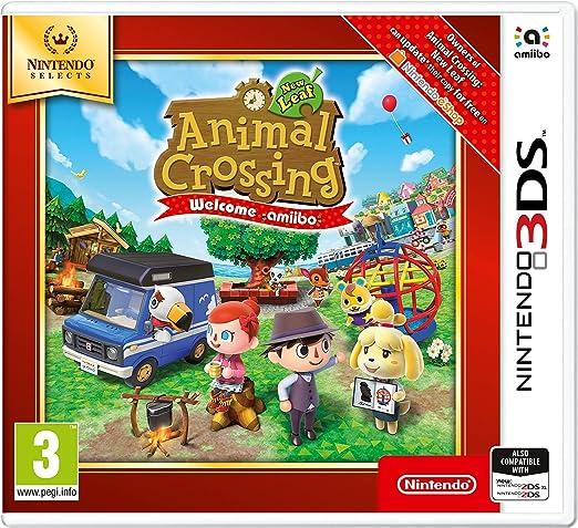 Todo para el streamer: Nintendo Selects - Animal Crossing New Leaf: Welcome amiibo - Nintendo 3DS [Importación inglesa]