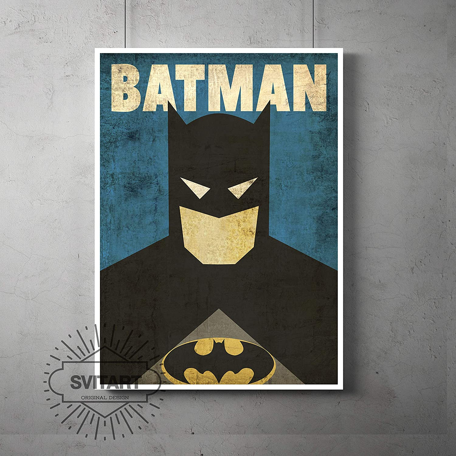 A4 A3 A2 A1 A0| Batman DC Movie Comic Poster Print T684