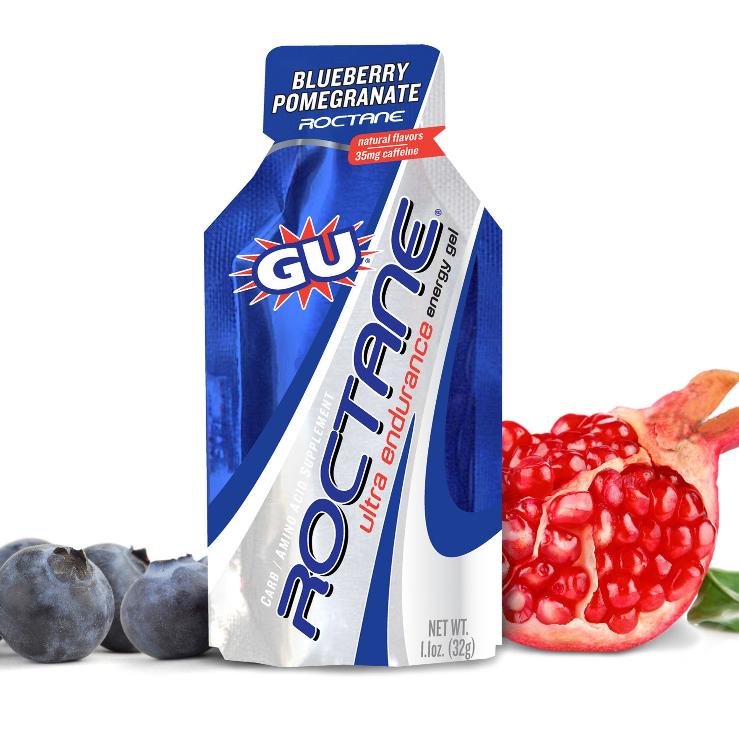 GU Roctane Ultra Endurance Energy Gel, Blueberry Pomegranate