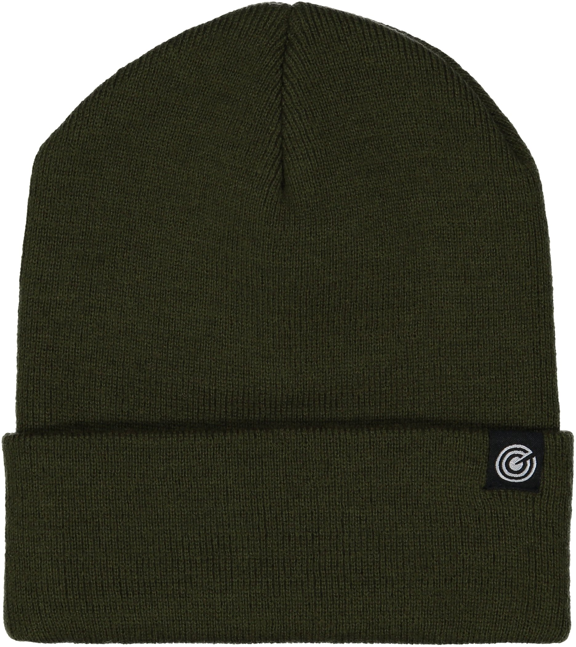 Cuffed Beanie - Warm Daily Beanie Hat with Foldover Cuff - Stylish Winter Colors,Forest Green,One Size