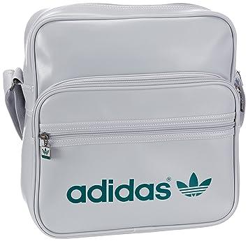 b1e9823ee45a0 adidas Originals AC SIR BAG X50327 Adult Unisex Shoulder Bag Grau (CLEAR  GREY S12