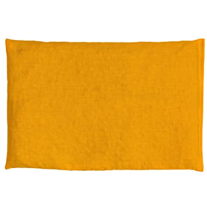 Almohada térmica de semillas 30x20cm mango | Saco térmico para microondas, horno, congelador | Cojín con semillas de grosella