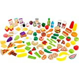 KidKraft 63330 Tasty Treat Pretend Play Food Set