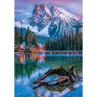 Buffalo Games - Earthpix Collection - Canadian Rockies - 500 Piece Jigsaw Puzzle: Toys & Games