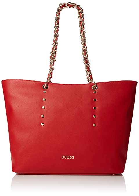 Guess Bolso para mujer, color granate rosado: Amazon.es