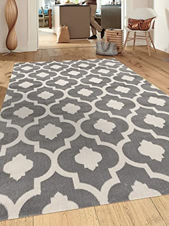 amazon com rugshop moroccan trellis contemporary indoor area rug