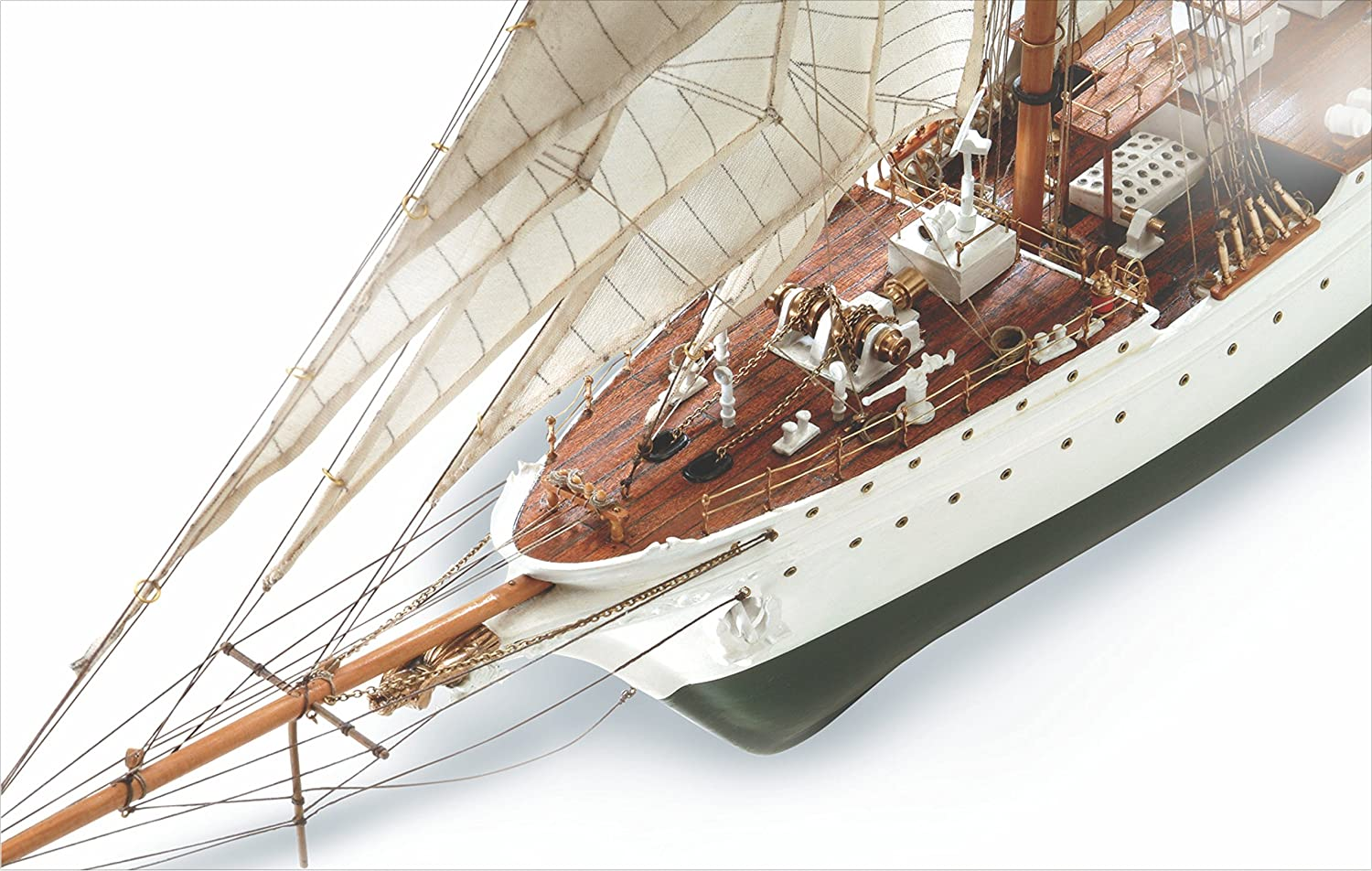 Amazon.com: Juan Sebastian Elcano Wooden Ship Model Kit by ...