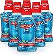 Colgate Munskölj Plax Cool Mint, Sexpack Fluorskölj som Skyddar mot Plack och Dålig Andedräkt - 250 ml i 6-Pack