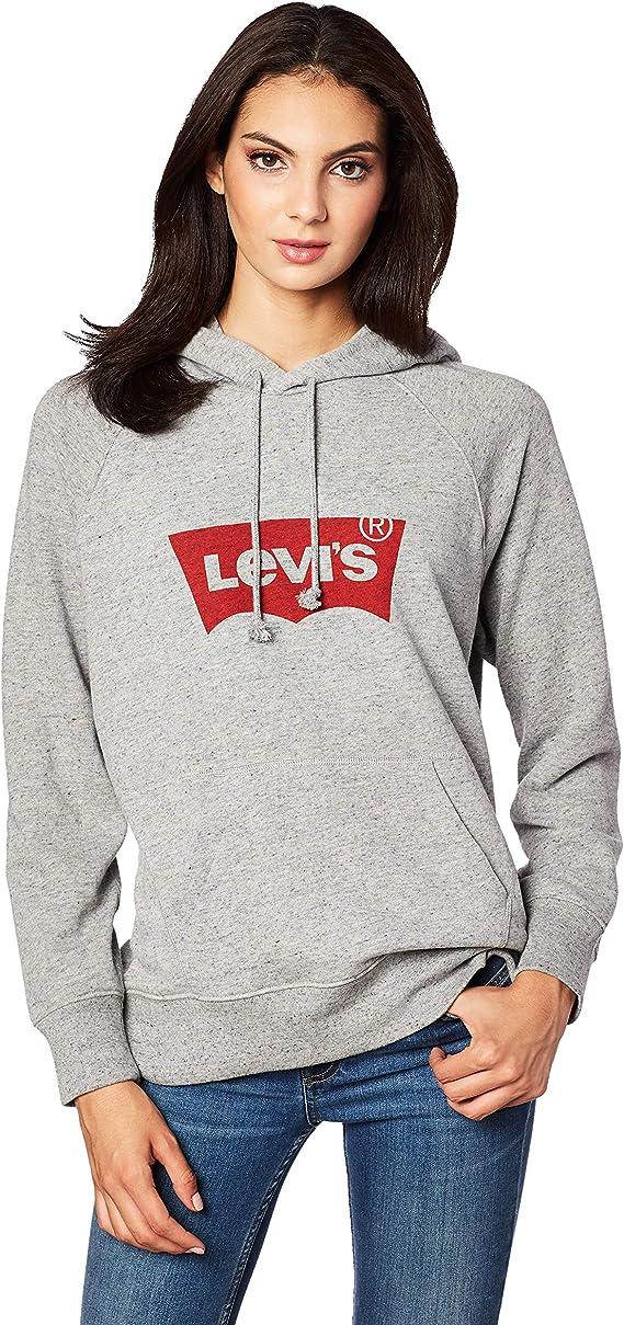 断码2.8折 Levi's 李维斯 女式连帽卫衣 $16.93 海淘转运到手约¥164