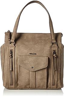 Tamaris Damen Babette Shoulder Bag Schultertasche, ((black
