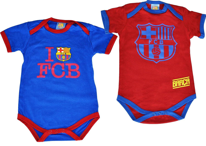 2 x body BARCA - Collection officielle FC BARCELONE - Taille bébé garçon e67aac8278e