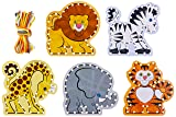 Melissa & Doug Lace & Trace: Wild Animals With 5