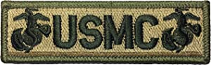 Papapatch Tactical USMC Hook and Loop Touch Fasteners Backing Tab Patch - Multitan (PS-Hook-TAB-USMC-Mult)