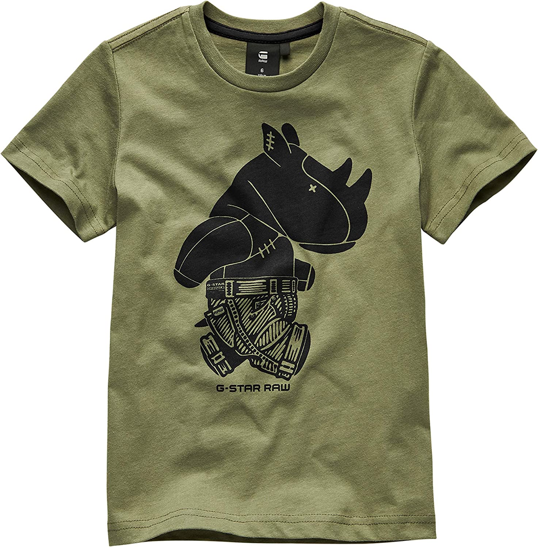 G-STAR RAW Sq10005tee Shirt Camiseta para Ni/ños