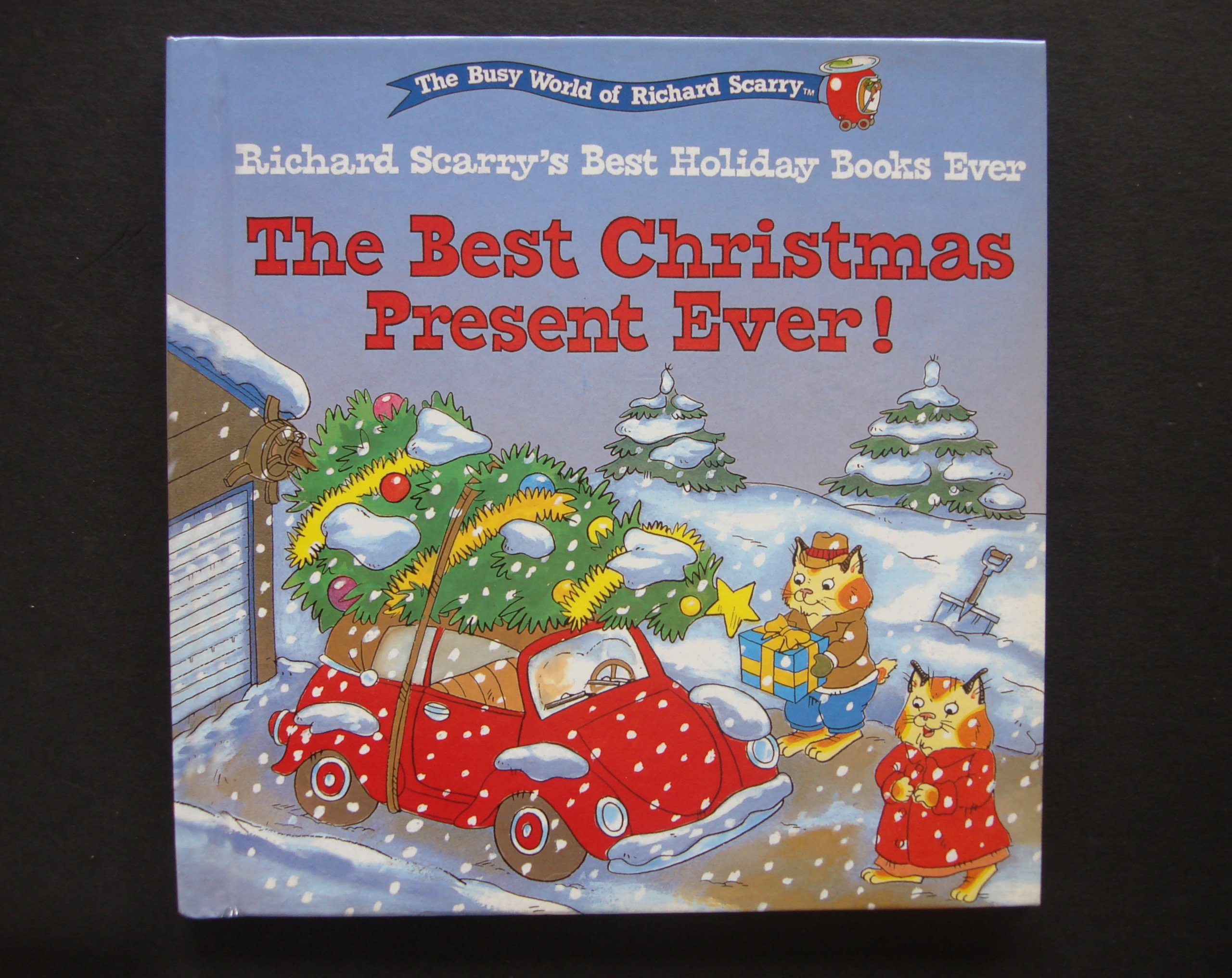best christmas present ever richard scarry amazoncom books - Best Christmas Present Ever