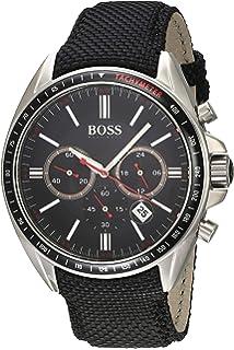 Hugo boss Mens Classic Quartz Black Band Black Dial