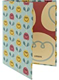"Redi-Tag Mini Binder, 9 x 6.75 x 1.25"", Lemonni Tulips Design (10276)"