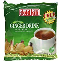 Ginger Drink Gold Kili 40 Sachets Packed in 2 Bags, 12.6 oz