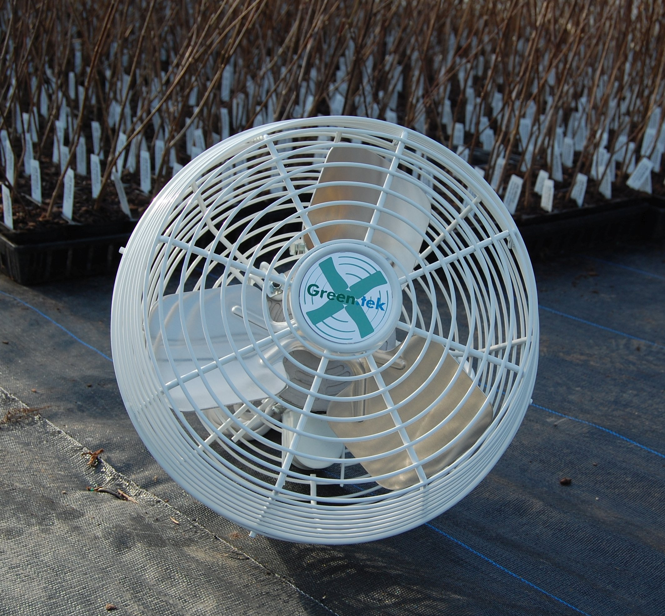 Basket Fan Greenhouse 12'' Flow Fan High Velocity - 1 by Growers Solution by Green Tek (Image #1)