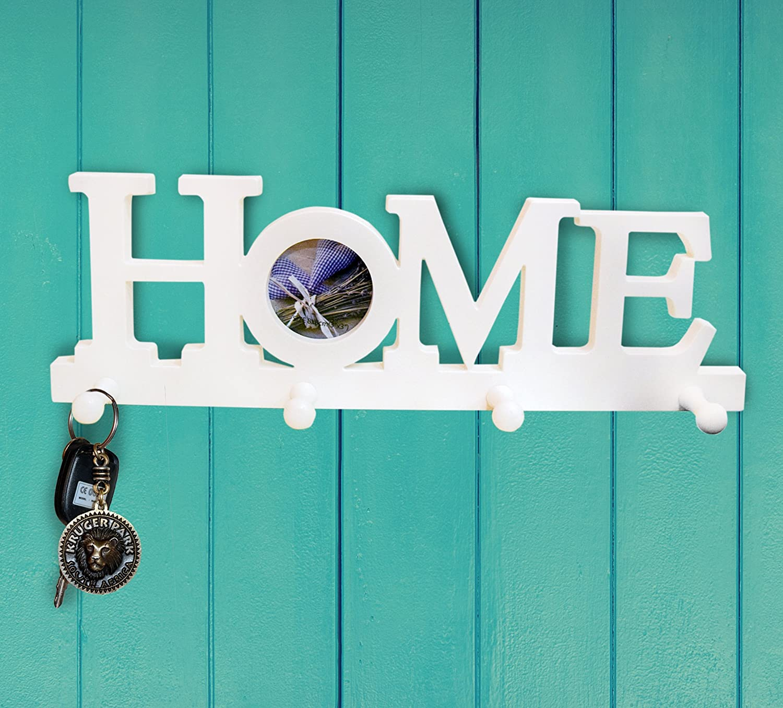 nitacy decorative wall mounted hanging key holder rack. Black Bedroom Furniture Sets. Home Design Ideas