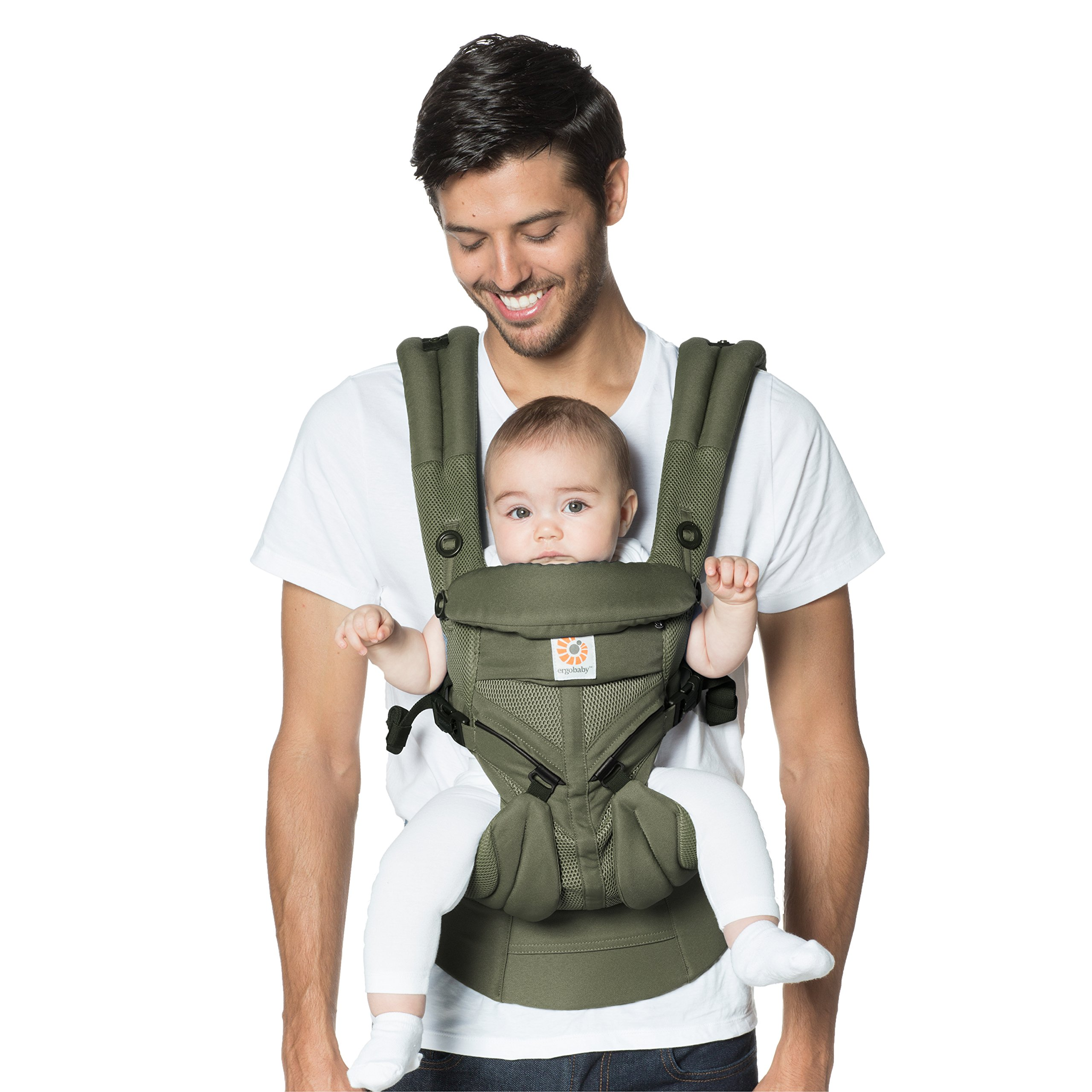 33018fae656 Ergobaby Omni 360 Cool Air Mesh Ergonomic Baby Carrier All Carry Positions