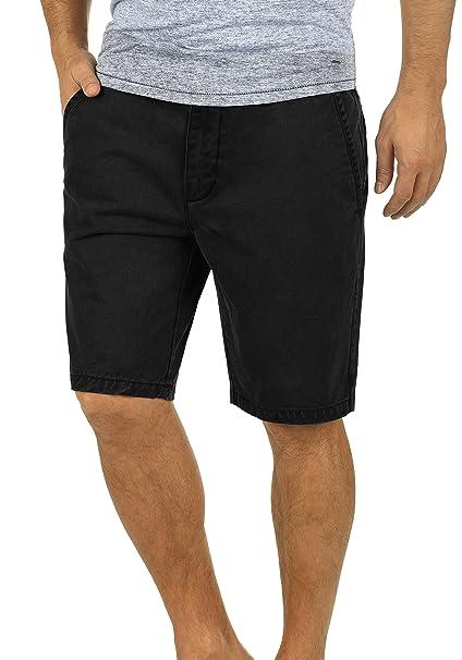 a34dbc8aa4 !Solid Pinhel Chino Pantalón Corto Bermuda Pantalones De Tela para Hombre  De 100% Algodón Regular-Fit  Amazon.es  Ropa y accesorios