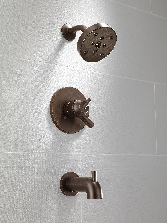 17 Series MultiChoice Tub//Shower Trim Delta Faucet T17459-RB Triassic Venetian Bronze