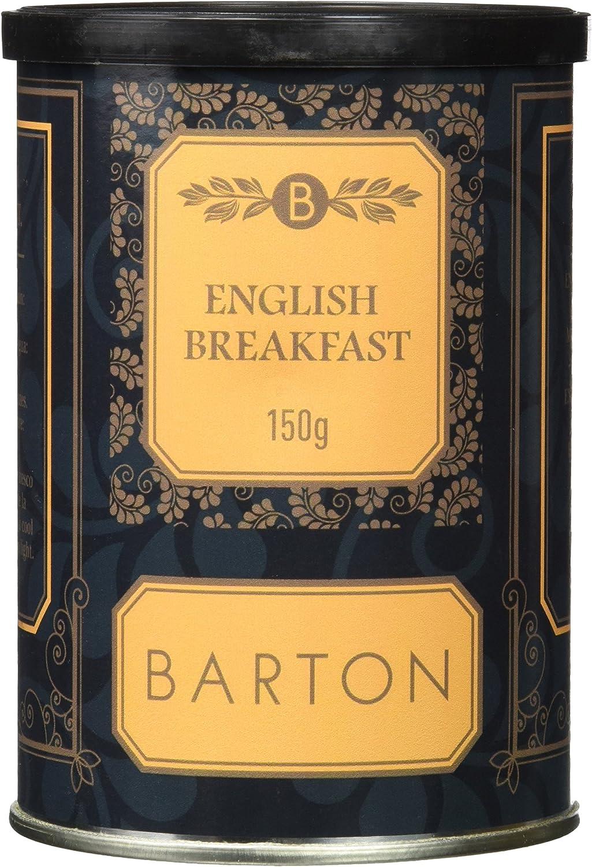 Barton 20563 - Wake Up Breakfast Té Negro, 150 gr