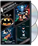 4 Film Favorites: Batman Collection (Batman/Batman Forever/Batman and Robin/Batman Returns)