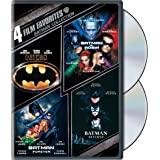 4 Film Favorites: Batman Collection (Batman / Batman Forever / Batman and Robin / Batman Returns)