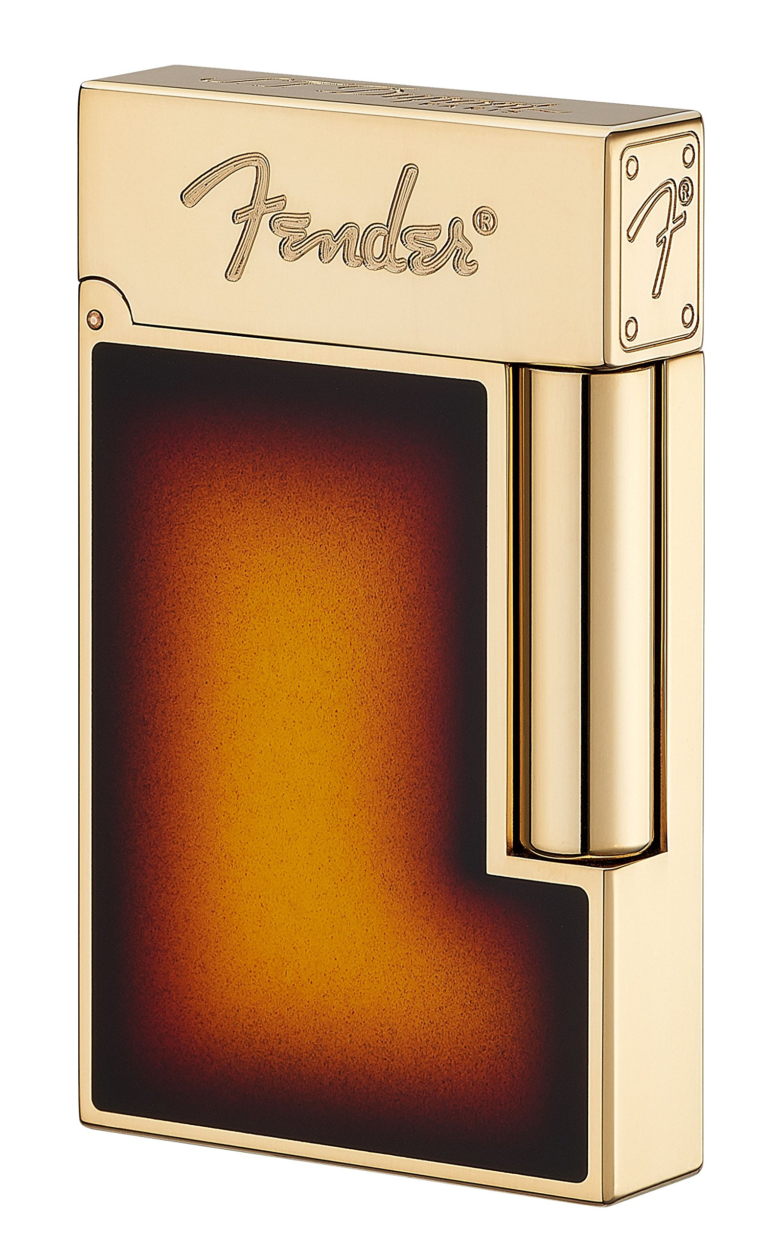 Fender Natural Lacquer Lighter in Gold Finish Line 2 by S.T. Dupont (Image #1)