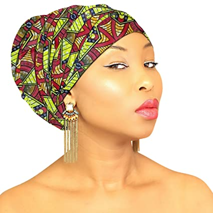 ef142a0cb Royal Head Wraps Multi-White-Color: Premium Large Head Wrap, Head Scarves, Head  Scarf, Head Bands For Women, 100% Cotton Fabric: Amazon.in: Health ...